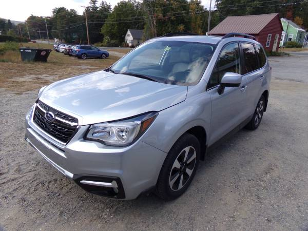 Photo Subaru 18 Forester Limited 40K Sunroof Leather Power Trunk - $17,995 (JLS Auto Vernon Vt)