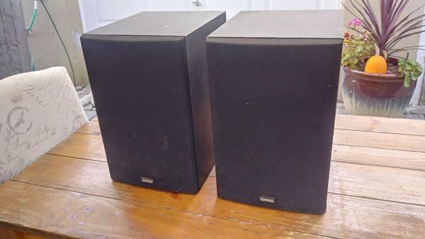 Photo Yamaha NS - A637 Speakers Pair - $95 (Mahopac)