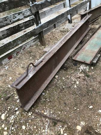 Photo 15 inch by 10 foot and  7 foot I beam and C channel - $100 (Winthrop)