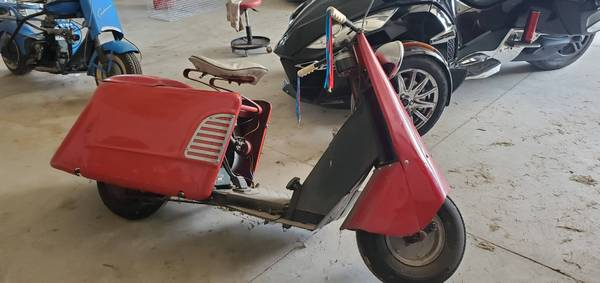Photo 1951 Allstate Scooter - $2000 (Central City)