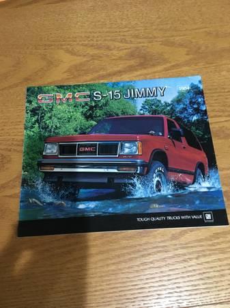 Photo 1984 GMC JIMMY - $10 (Marion IA)