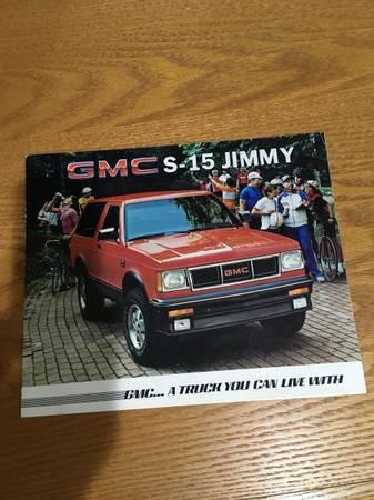 Photo 1985 GMC JIMMY - $10 (Marion IA)