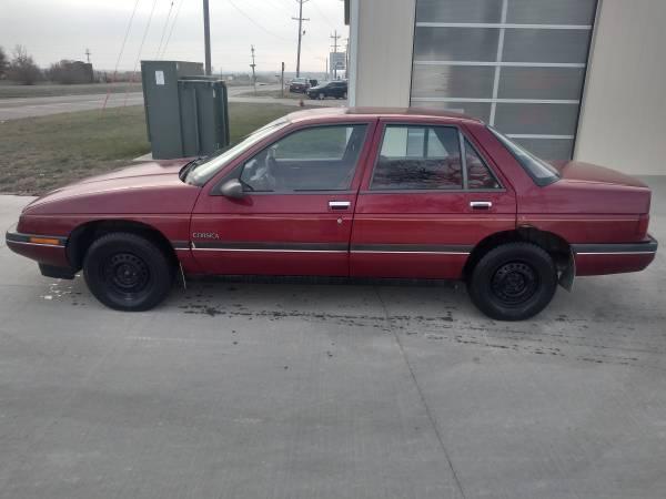 Photo 1989 Chevy Corsica - $1,200 (Belle Plaine)