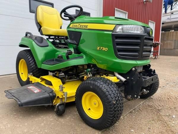 Photo 2013 John Deere X730 garden tractor 54quot deck 592 hours - $6,500 (shueyville)