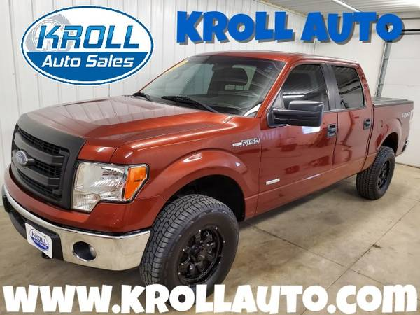Photo 2014 Ford F150 SuperCrew Ecoboost. 83k miles Tow PackageNEW TIRES etc - $20995 (Marion)