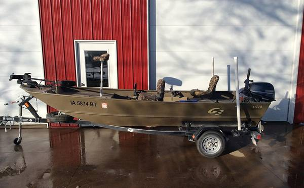 Photo 2020 G3 1548 Jon boat with Yamaha 25hp and trailer - $6,900 (Riverside (West of Hills))