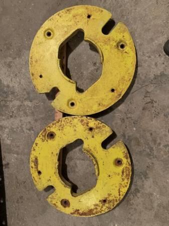 Photo 2 John Deere Wheel Weights - $200 (springville)