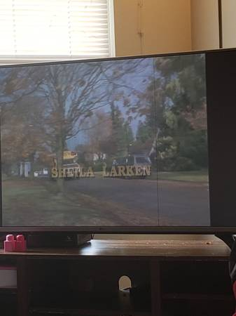 Photo 50 or 55 inch tv - $150 (Cedar Rapids)
