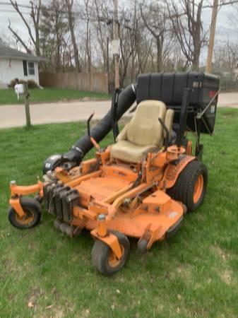 Photo 61 inch Turf Tiger Mower with Grass Catcher - $4,700 (Cedar Rapids)