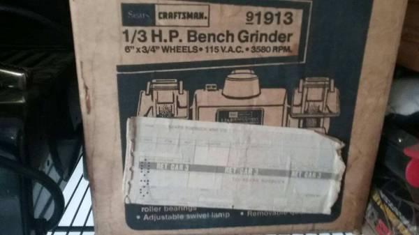Photo Craftsman Bench Grinder (CEDAR RAPIDS)