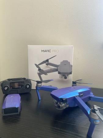 Photo DJI Mavic Pro Drone - $485 (Cedar Rapids)