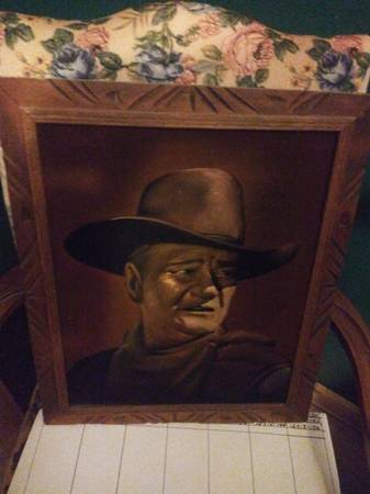 Photo John Wayne - $25 (Monmouth)