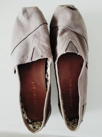 Photo Madden Girl Canvas Slip-On Shoes (Like Toms), Size 6.5 - $5 (Marion)