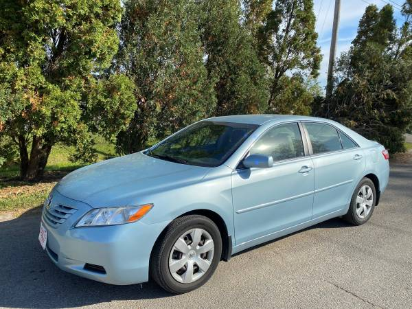 Photo ONLY 89,000 MILES 2007 TOYOTA CAMRY LE SEDAN ONE OWNER BABY BLUE - $8,900 (DJ AUTO SALES 3815 16TH AVE SW)