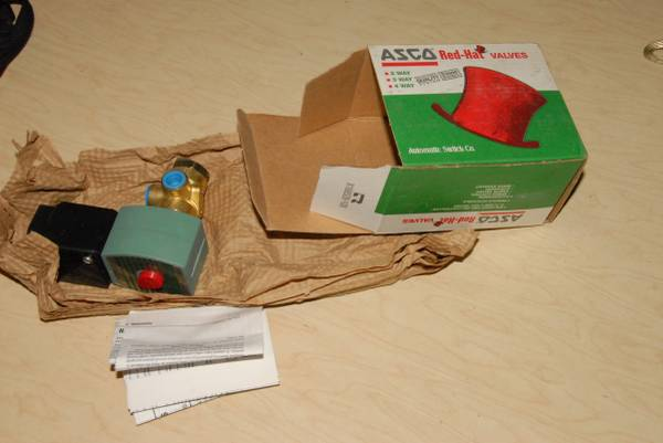 Photo Red Hat Asco Valves - $50 (Cedar Rapids)