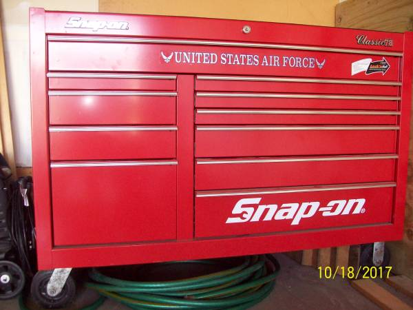 Photo SNAP ON (NEW) Tool Box - Classic 78 - NO TOOLS - $2800 (Marion)
