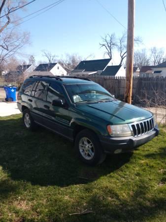 Photo SOLD-2000 Jeep Grand Cherokee Laredo 2WD - $2,000 (Cedar Rapids)