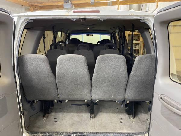 Photo Van Seats Ford E350 E250 E150 Clubwagon Chevy Express GMC Savana Party - $200