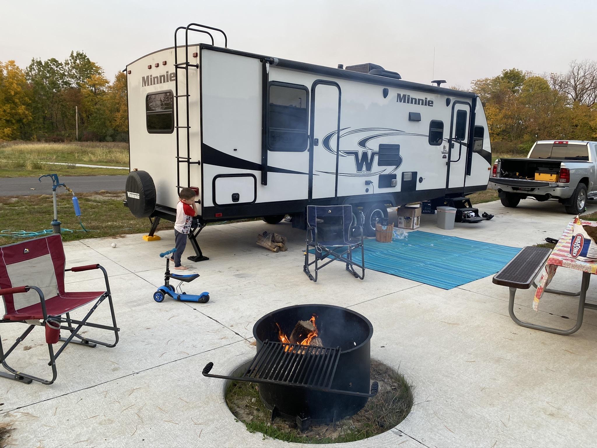 Photo Used 2019 Winnebago Travel Trailer RV  $25400