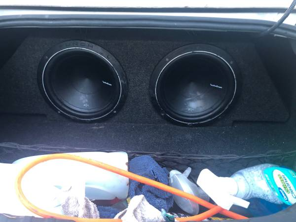 Photo 2 - 12 inch Rockford Fosgate P1 subs and a 1500w Boss  - $300 (Hammond)