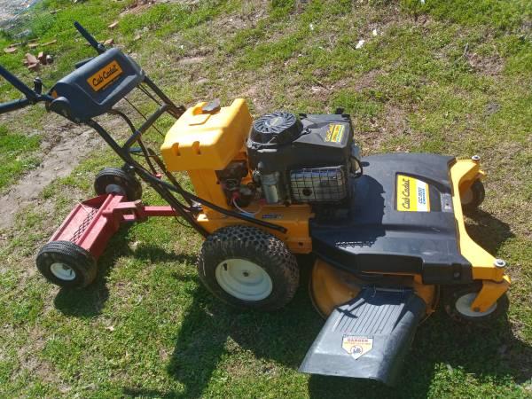 Photo Club Cadet walk behind lawn mower - $800 (Colfax)