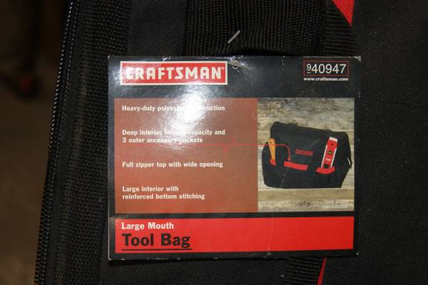 Photo Craftsman Tool Bag - $20 (Natchitoches)