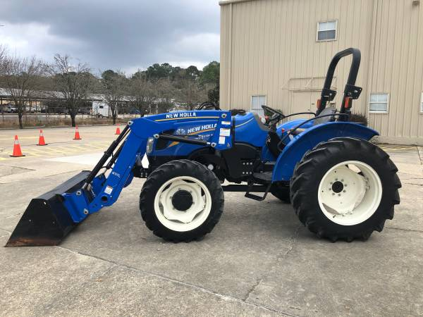Photo New Holland WorkMaster 50 Tractor 53HP 4WD Front End Loader - $23900 (Baton Rouge)