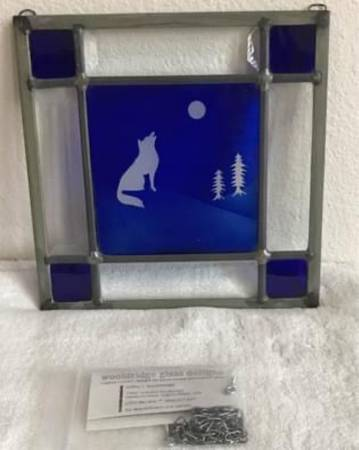 Photo Stained glass panel - $250 (Lafayette)