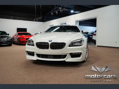 Photo Used 2016 BMW 640i Gran Coupe w M-Sport and Executive Pkg for sale