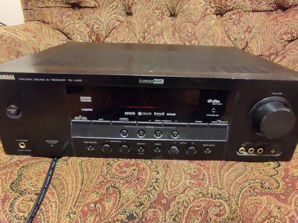Photo Yamaha RX-V463 For Sale Natural Sound AV Receiver (NO REMOTE) TESTED - $30 (Southdowns)