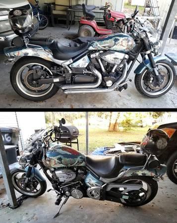 Photo Yamaha Road Star Warrior 1,700 cc - $3,000 (Iowa)
