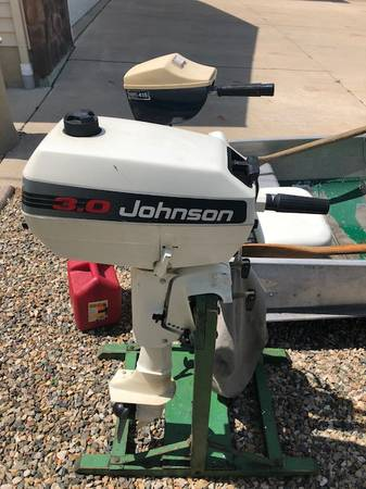 12 ft Sea Nymph Row Boat w/ 3hp Johnson - $750 (Springport MI