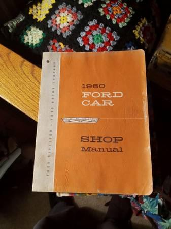 Photo 1960 Ford Car Shop Manual - $30 (Shepherd)
