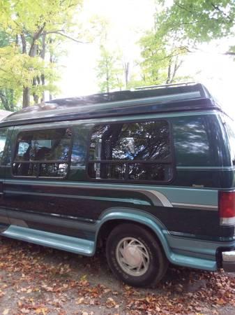 Photo 1995 Ford 250 Handicap Van - $5,000 (Harrison)