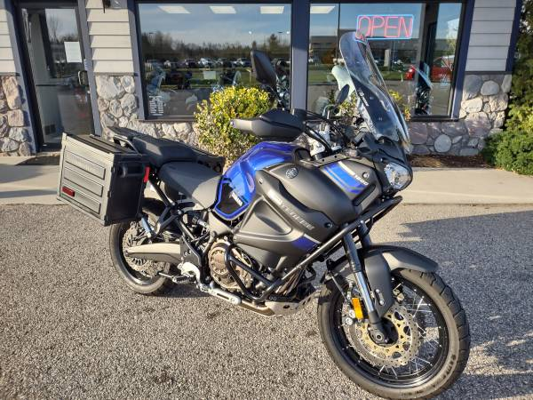 Photo 2018 Yamaha Super Tenere - ABS, cruise, detach panniers - 1,000 miles - $12,400 (Miller39s - Petoskey)