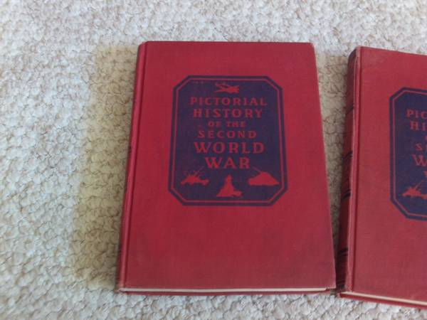 Photo 2 BOOKS-PICTORIAL HISTORY of SECOND WORLD WAR - $20 (Owosso, MI)