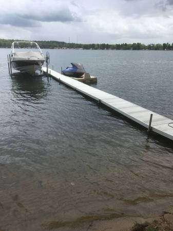 Photo ALUMINUM DOCK 56 FT IN LENGTH