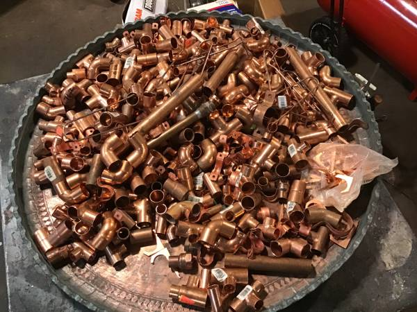 Photo COPPER PIPE AND FITTINGS - $145 (Aubrn)