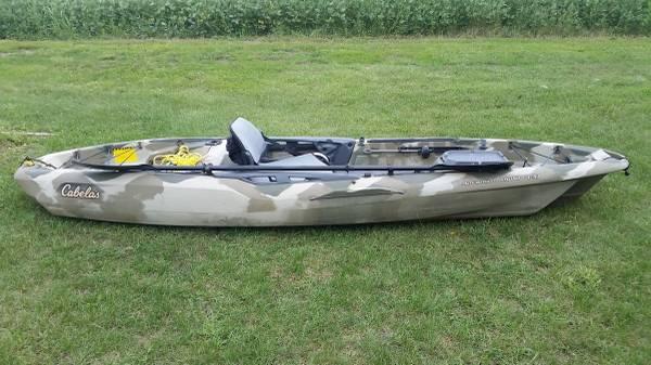 Cabela S Fishing Kayak 700 Elwell Boats For Sale Central Michigan Mi Shoppok