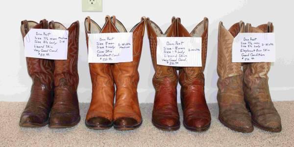 Photo Dan Post Cowboy Boots - $50 (BEAVERTON)