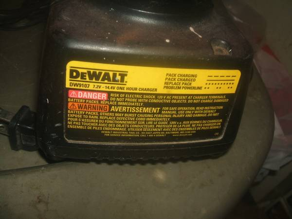 Dewalt SAWZALL Battery Charger - $45 (LYONS S. end of Area M21 (W. of St. Johns S. OF Pewamo))