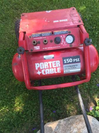 Photo Job Boss portable -porter cable air compressor - $125 (shepherd)