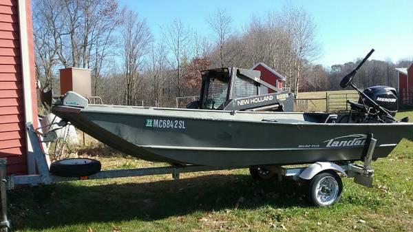 Photo Landau Flat Bottom Boat With Jet Drive - $7,000 (Lakeveiw)