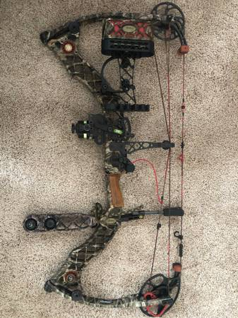 Photo Mathews Z7 left handed bow - $550 (st.louis)
