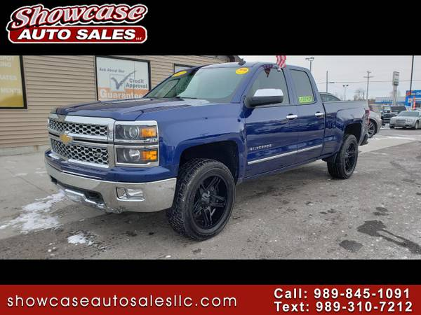 Photo PRICE DROP 2014 Chevrolet Silverado 1500 4WD Double Cab 143.5quot LTZ - $16995 (Chesaning)