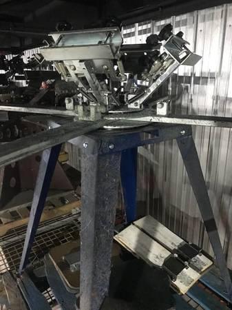 Photo Silk Screen Printing Equipment Business - $5,000 (Flint)