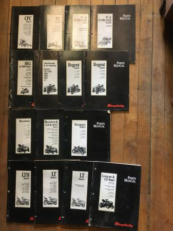 Photo Simplicity Lawn Mower Manuals - $15 (Saint Louis)