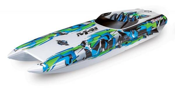 Photo TRAXXAS M41 40quot Catamaran 50MPH RC Boat Model 57046-4 TRX00013 - $449 (Fenton)