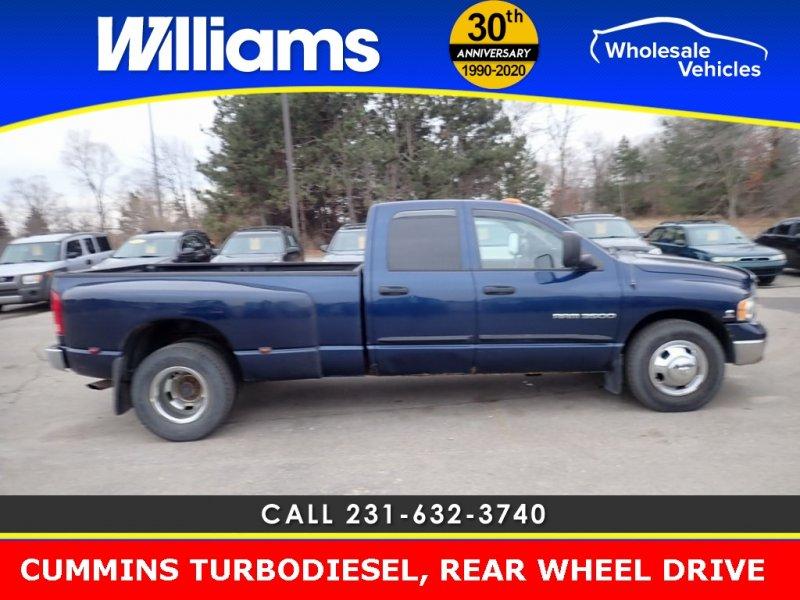 Photo Used 2003 Dodge Ram 3500 Truck SLT for sale