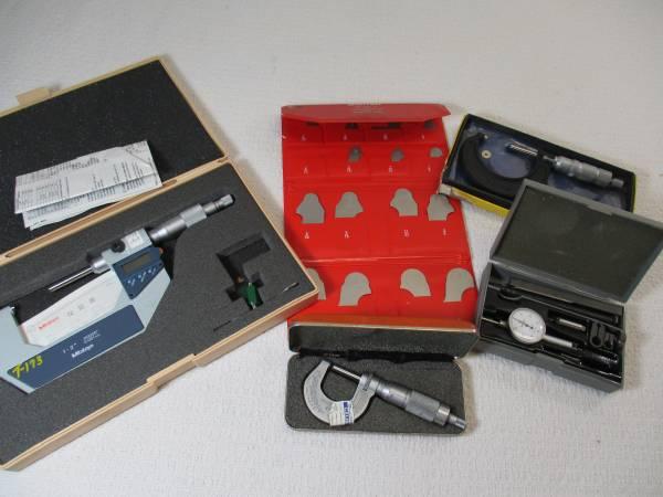 Photo WANTED - Machinist Tools, Precision Tools, Micrometers, Indicators etc - $499 (Gladwin, MI)
